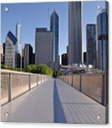 Bridgeway To Chicago Acrylic Print