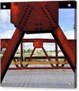 Bridging The Gap Acrylic Print