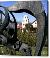 Bridlewood Winery Acrylic Print by Gary Brandes