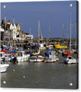 Bridlington Harbour Acrylic Print