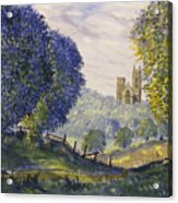 Bridlington Priory From Woldgate On The Hockney Trail Acrylic Print