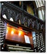 Bridlington Priory Pipe Organ Acrylic Print
