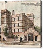 Brigade Depot Oxford England 1880 Acrylic Print