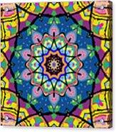 Brigadoon No. 1 Kaleidoscope Acrylic Print