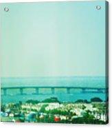 Brigantine Bridge - New Jersey Acrylic Print