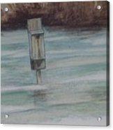 Brigham Pond Duck Box Acrylic Print