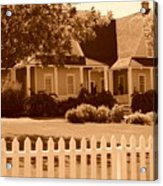 Brigham Young Home Acrylic Print