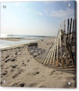 Bright Beach Morning Acrylic Print