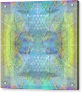 Bright Chalice Ancient Symbol Tapestry Acrylic Print