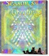 Bright Chalice Tree N 3 Kings Acrylic Print