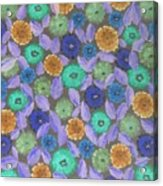 Bright Flowers Acrylic Print