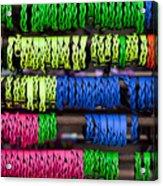 Bright Leather Bracelets Acrylic Print
