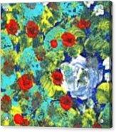 Bright Roses Acrylic Print