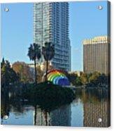 Bright Spot In Downtown Orlando Acrylic Print