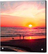 Bright Sunset Acrylic Print