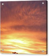 Bright Sunset Acrylic Print