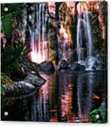 Bright Waterfalls Acrylic Print