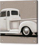 Bright White 3100 Degrees Acrylic Print by Paul Kim