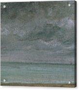 Brighton Beach Acrylic Print by John Constable