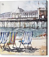 Brighton England Acrylic Print
