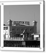 Brighton Old And New Acrylic Print