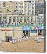 Brighton Seaside  Acrylic Print