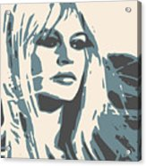 Brigitte Bardot Poster 2 Acrylic Print