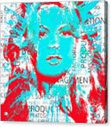 Brigitte Moss Acrylic Print