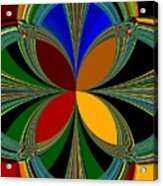 Brilliant Colors Acrylic Print