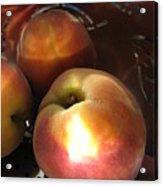 Brilliant Peach Acrylic Print