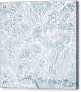 Brilliant Shine. Series Ethereal Blue Acrylic Print