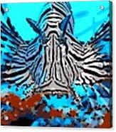 Brilliant Stripes Acrylic Print
