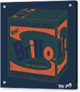 Brillo Box Colored 6 - Warhol Inspired Acrylic Print