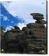 Brimham Rocks Acrylic Print