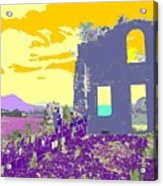 Brimstone Sunset Acrylic Print