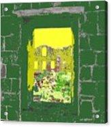 Brimstone Window Acrylic Print