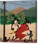 Brincadeiras De Criancas Acrylic Print