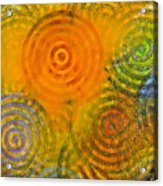 Bring Down Colored Rain Acrylic Print