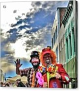 Bring Out The Clowns Acrylic Print