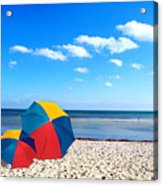 Bring The Umbrella With You Acrylic Print