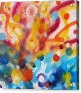 Bringing Life Spray Painting  Acrylic Print