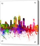 Brisbane Australia Cityscape 02 Acrylic Print