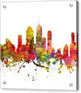 Brisbane Australia Cityscape 08 Acrylic Print