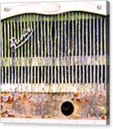 Bristol Bus Grill Acrylic Print