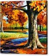 Bristol Fall  Acrylic Print