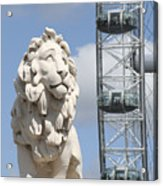 Britannia Lion Acrylic Print