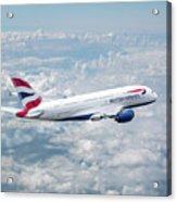 British Airways Airbus A380-841 Acrylic Print