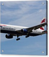 British Airways Boeing 767 Acrylic Print