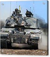 British Army Challenger 2 Main Battle Tank   Acrylic Print