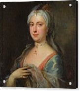 British Lady Mary Wortley Montagu Acrylic Print